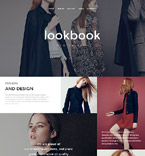 Fashion Website  Template 57578