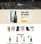 Food & Drink OpenCart  Template 57580