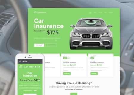 Car Insurance Responsive