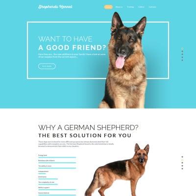 94+ Best Pet Website Templates | Animal Website Templates