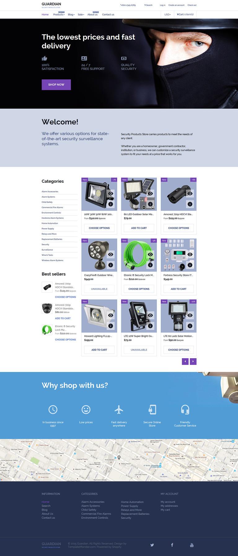Guardian Shopify Theme New Screenshots BIG