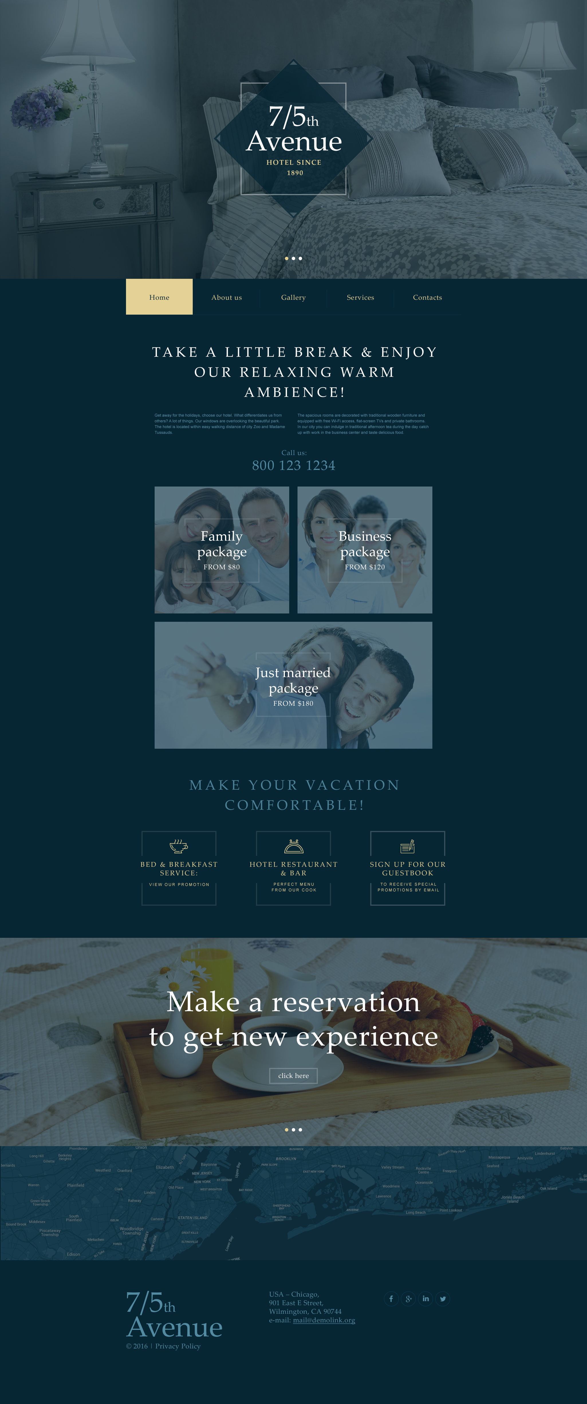 Hotels Muse Template