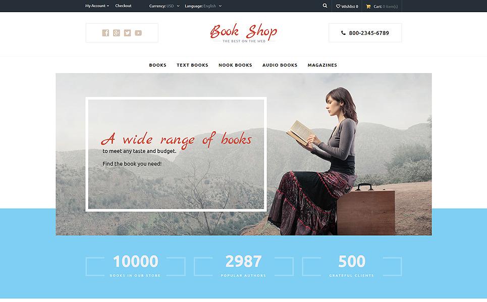 Tema opencart 57536 per un sito di libri for Sito per acquistare libri