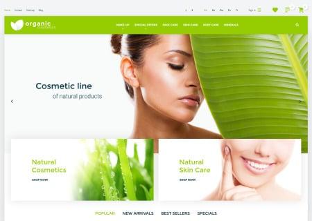Organic Cosmetics  theme