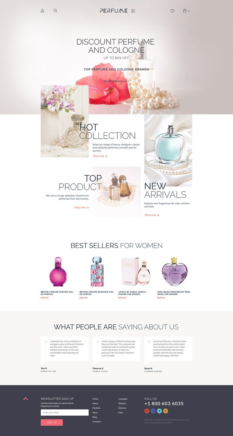 Perfume Shop WooCommerce Theme New Screenshots BIG