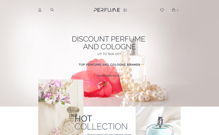 Perfume Shop WooCommerce Theme