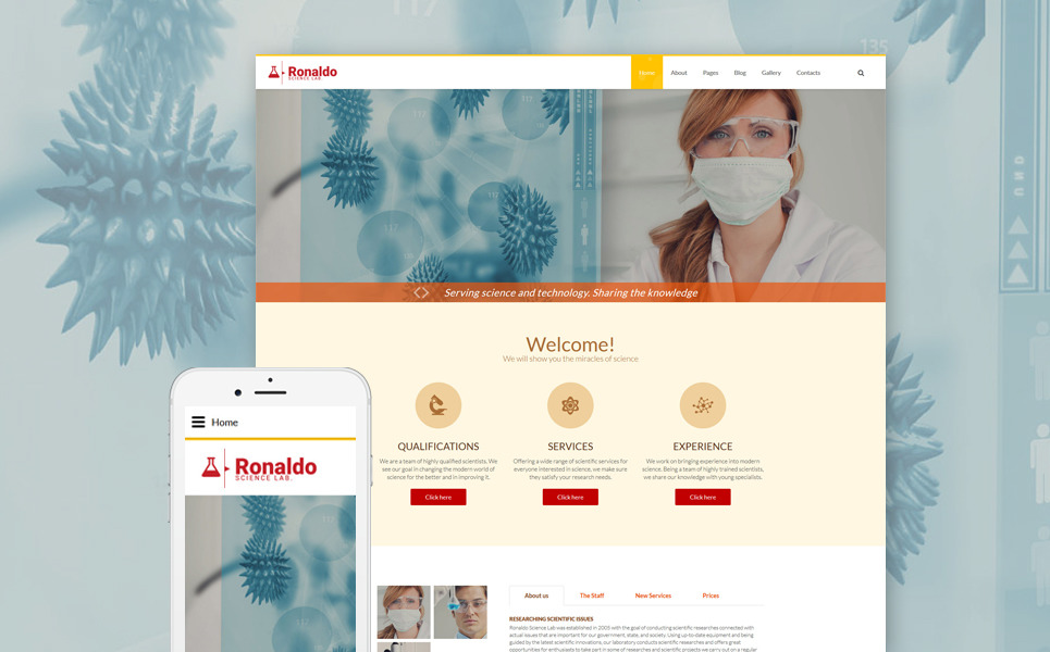 Ronaldo Joomla Template New Screenshots BIG