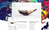 Tema WordPress Flexível para Sites de Estúdio Fotográfico №57554 New Screenshots BIG
