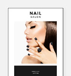 Beauty Newsletter  Template 57601