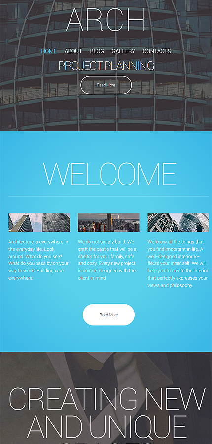 WordPress Theme/Template 57602 Main Page Screenshot
