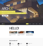 Architecture Website  Template 57603