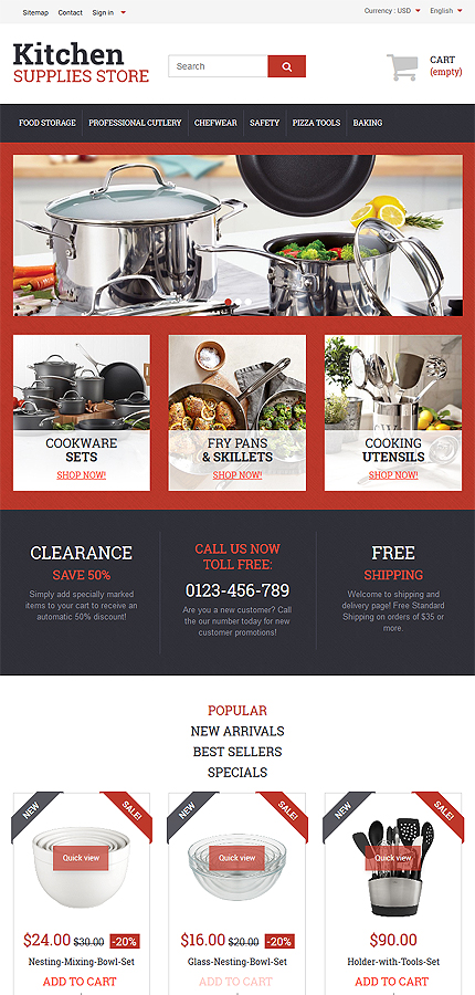 ADOBE Photoshop Template 57609 Home Page Screenshot