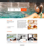 Hotels Website  Template 57610