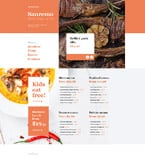Cafe & Restaurant Muse  Template 57613