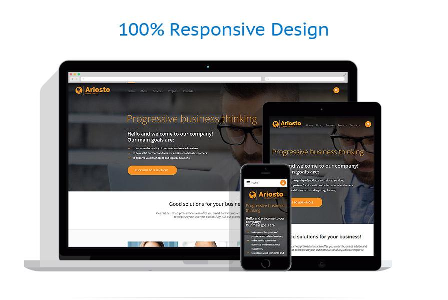 Modèles HTML5 Affaires #57618
