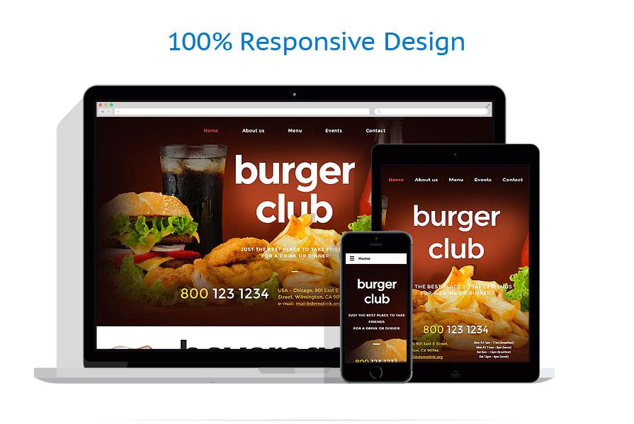 Modèles HTML5 Café et Restaurant #57620
