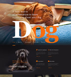 Animals & Pets Muse  Template 57622