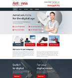 Communications Website  Template 57625
