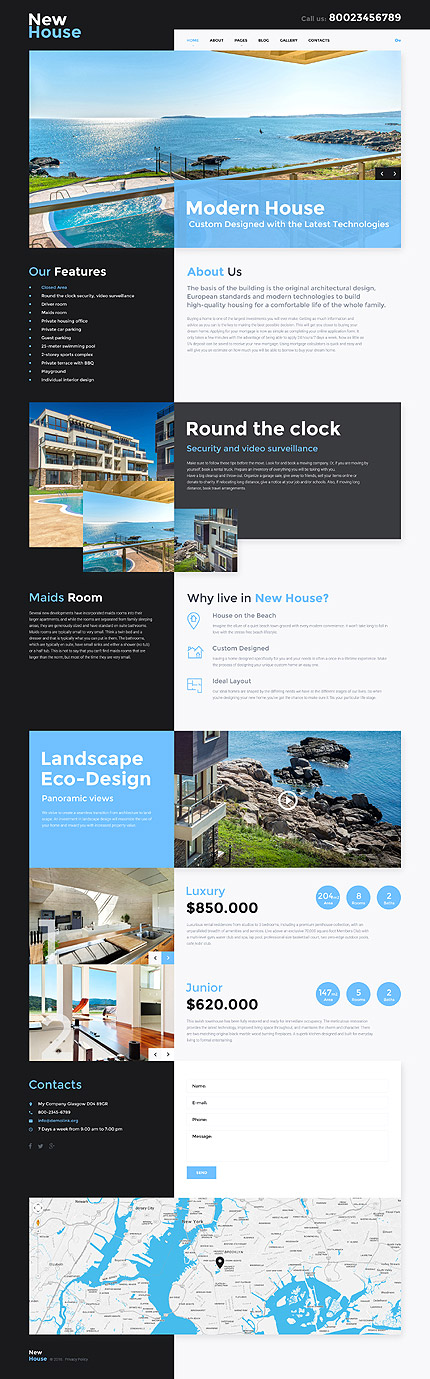 Joomla Theme/Template 57627 Main Page Screenshot