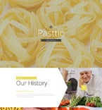 Cafe & Restaurant Landing Page  Template 57629