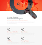 Security Landing Page  Template 57631
