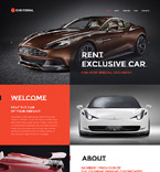 Cars Website  Template 57633