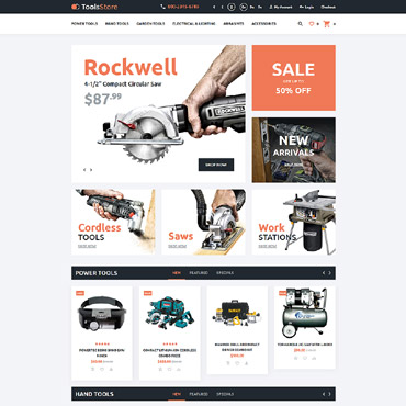 Preview image of Tools Store