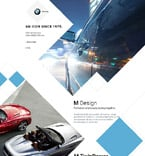 Cars Landing Page  Template 57639