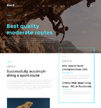 Sport Website  Template 57643