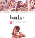 Beauty Website  Template 57644