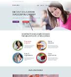 Education Website  Template 57645