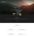 Art & Photography Website  Template 57646