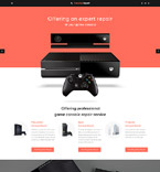 Games Website  Template 57647