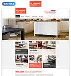 Furniture Website  Template 57649