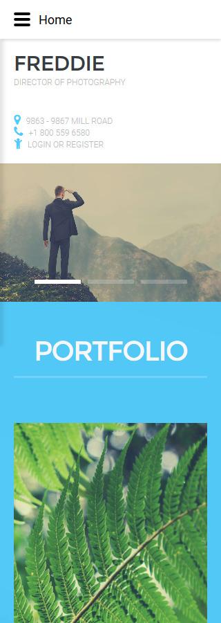 Joomla Theme/Template 57654 Main Page Screenshot