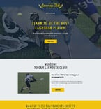 Sport Website  Template 57662