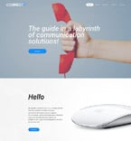 Communications Website  Template 57663