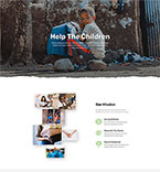 Charity Website  Template 57666