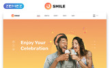 Responsivt Smile - Event Planner Clean Multipage HTML5 Hemsidemall