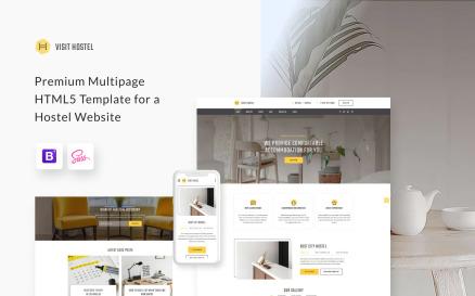 Hostel - Travel Multipage HTML5 Website Template