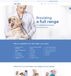 Animals & Pets Website  Template 57678
