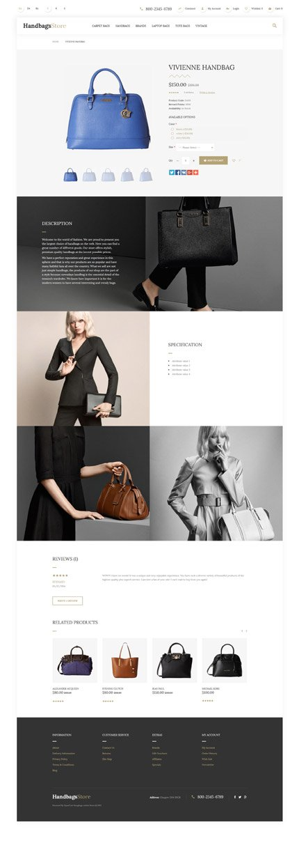 ADOBE Photoshop Template 57682 Home Page Screenshot