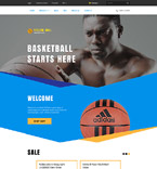 Sport Shopify Template 57683