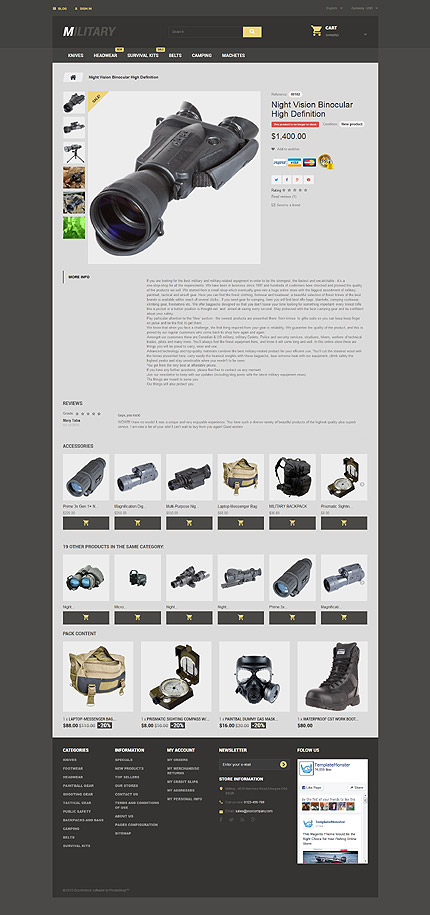 ADOBE Photoshop Template 57689 Home Page Screenshot