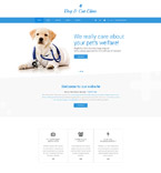Animals & Pets Website  Template 57690