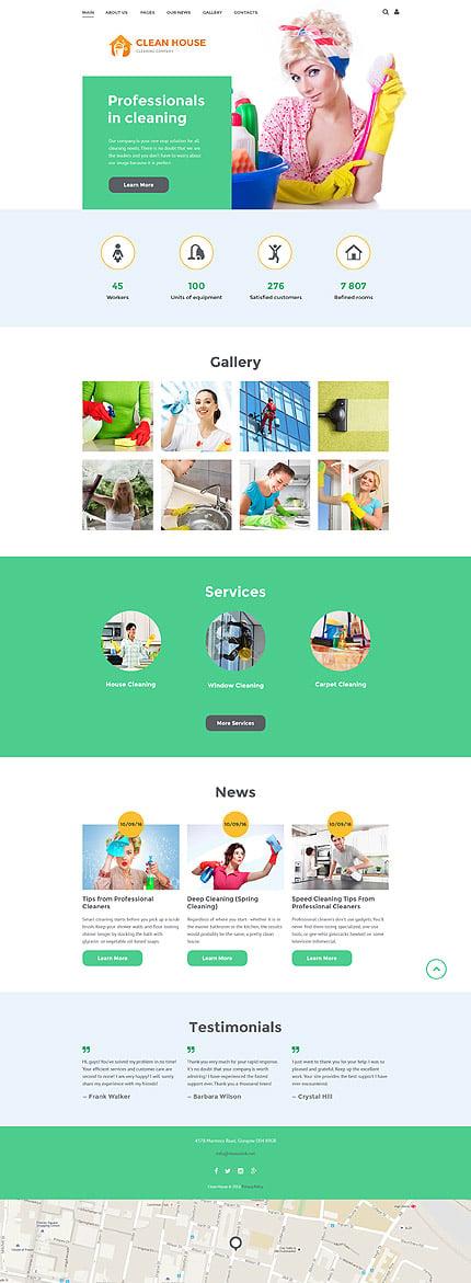 Joomla Theme/Template 57695 Main Page Screenshot