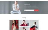 """John Fortezi - Elegant Fashion Clothing Multipage HTML"" modèle web adaptatif"