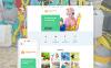 Адаптивний Joomla шаблон на тему прибирання New Screenshots BIG