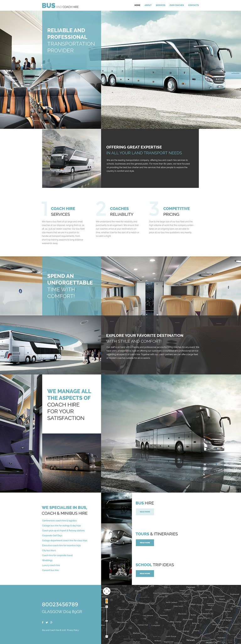 Bus and Coach Hire Website Template New Screenshots BIG