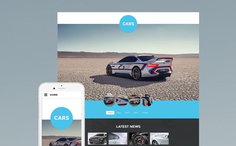 Car Club Website Template